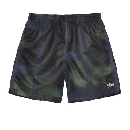DYED PLAID WATER SHORT