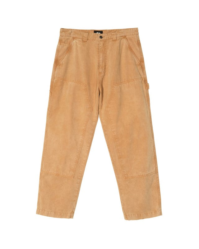 WASHED CANVAS WORK PANT