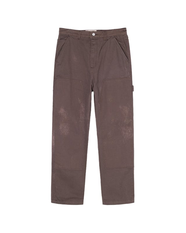 SPOTTED BLEACH WORK PANT