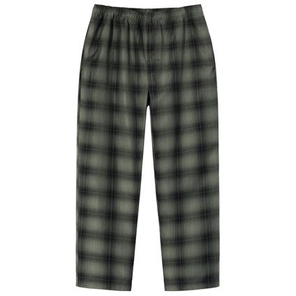 SHADOW PLAID RELAXED PANT