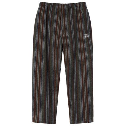 WOOL STRIPE RELAXED PANT