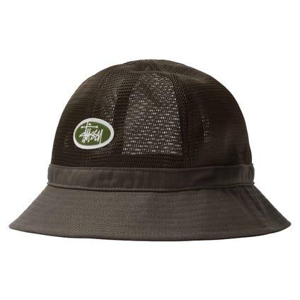 MESH CROWN BELL BUCKET HAT