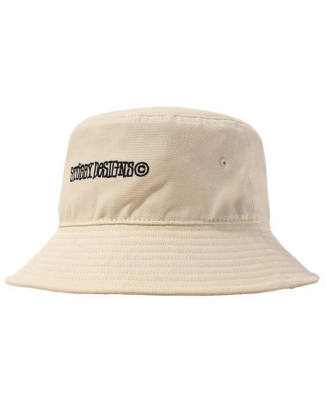 CANVAS WIDE BRIM BUCKET HAT