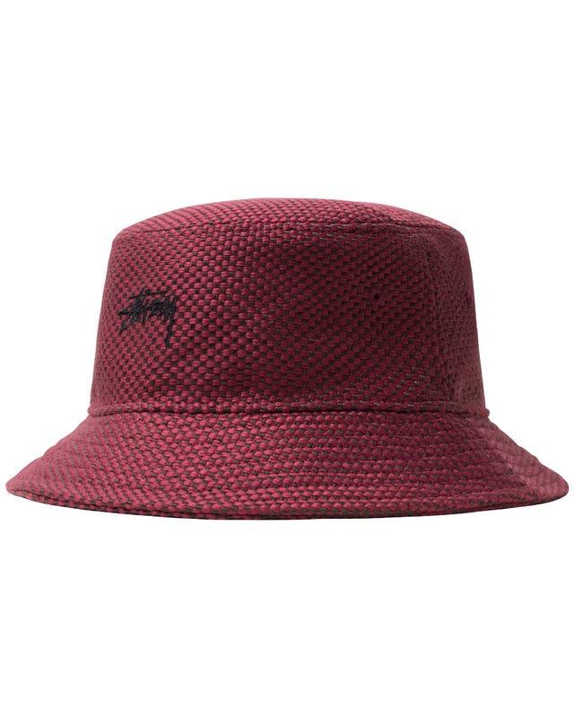 JUTE WEAVE BUCKET HAT