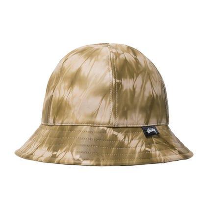 TIE DYE LEATHER BELL HAT