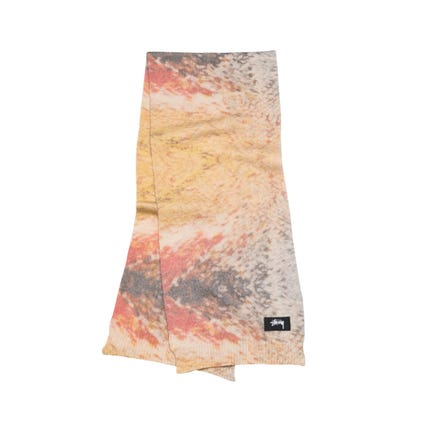 WING PRINT KNIT SCARF