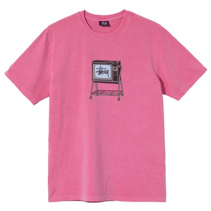 ROLLING TV PIG. DYED TEE