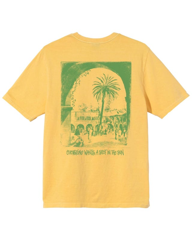 SPOT IN THE SUN PIG. DYED TEE