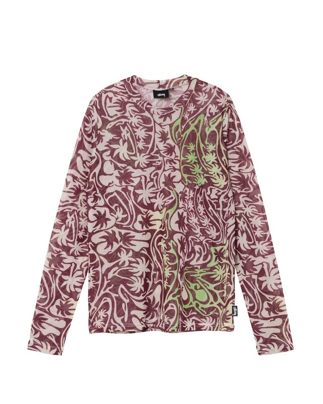 W' PSYCHEDELIC PALM TREE LS