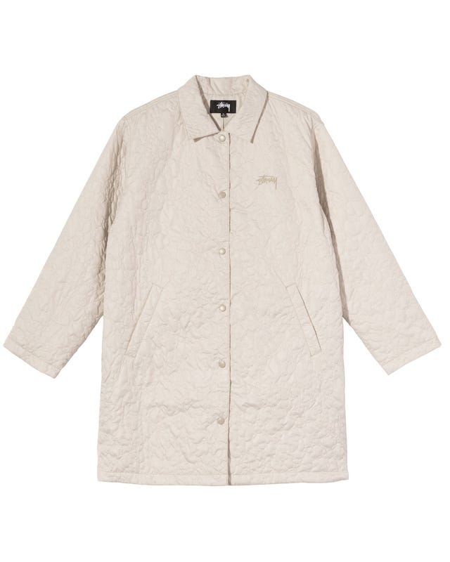 W' RITTERS LONG QUILTED JACKET
