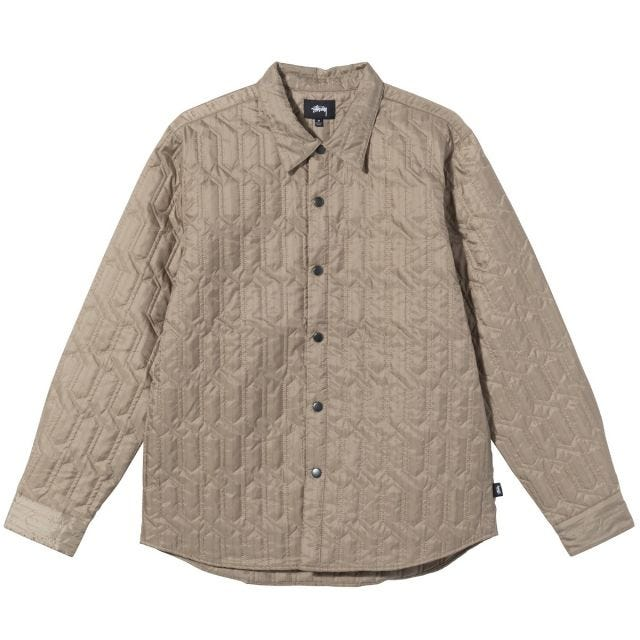 QUILTED INSULATED LS SHIRT