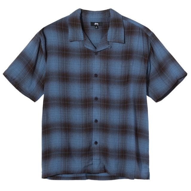 BOXY SHADOW PLAID SHIRT