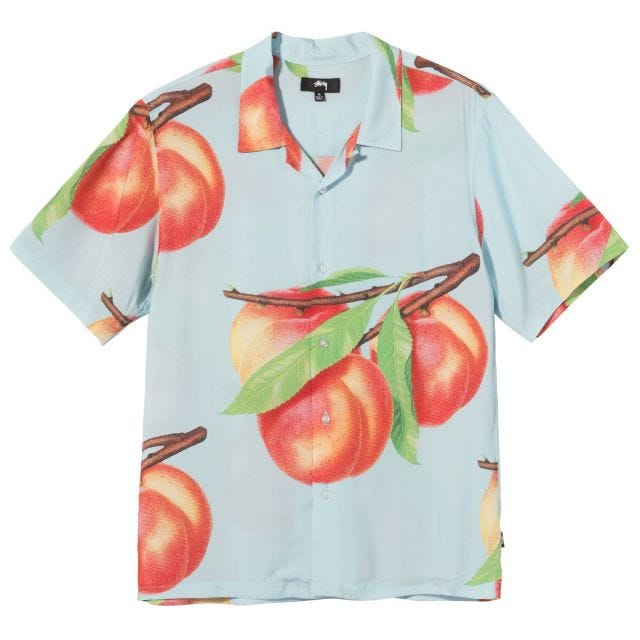 PEACH PATTERN SHIRT
