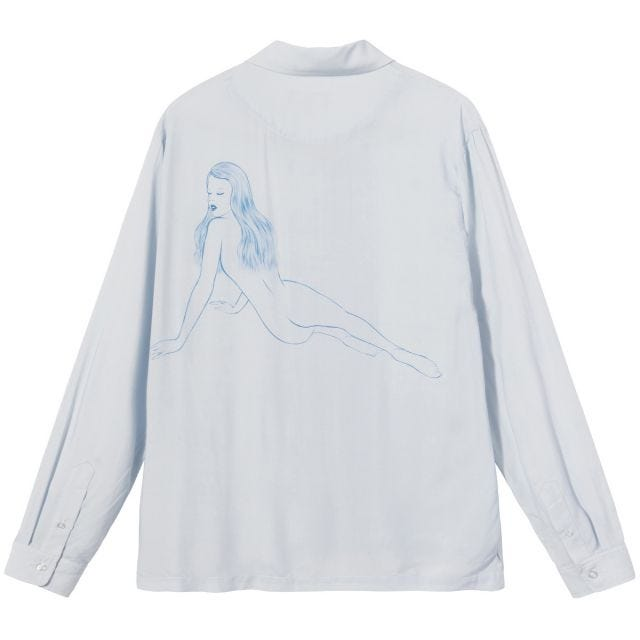 PIN UP GIRL LS SHIRT