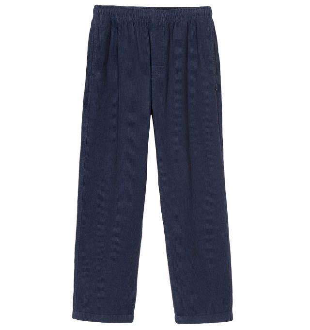 O'DYED WIDE CORD BEACH PANT