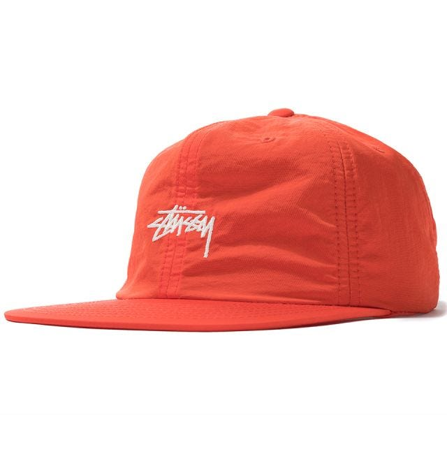 STOCK NYLON STRAPBACK CAP HO19