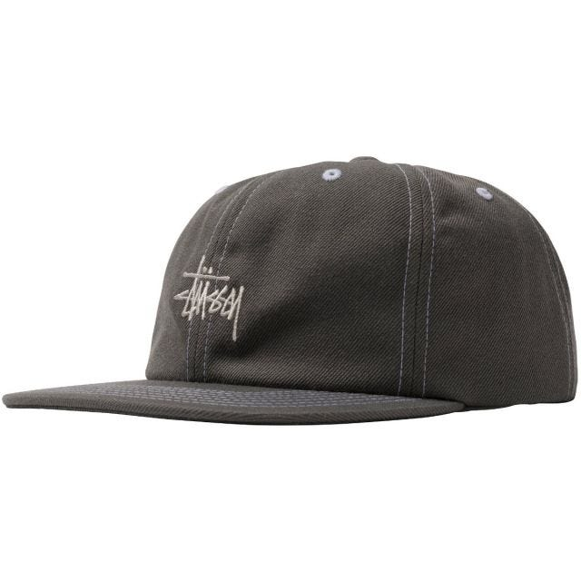 CONTRAST STITCH STOCK CAP