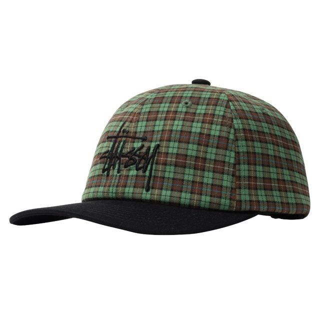 PLAID 2-TONE LOW PRO CAP