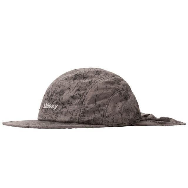 DYED NYLON BUNGEE CAMP CAP