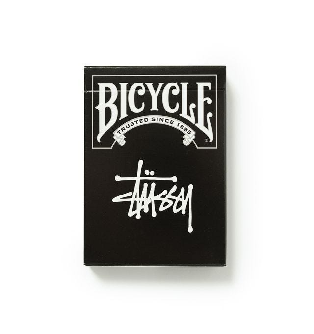 STUSSY PLAYING CARDS