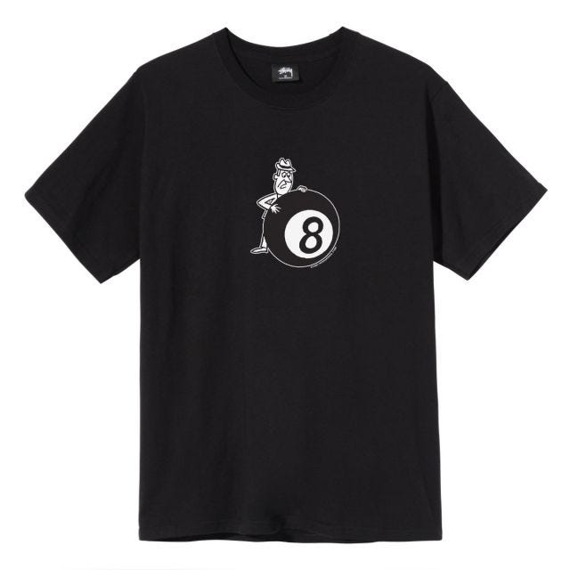 BEHIND THE 8 BALL TEE