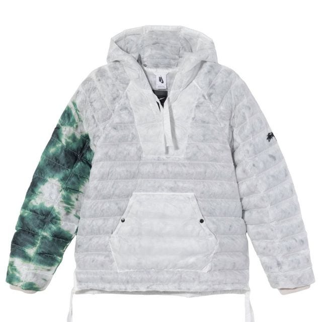 Stussy x Nike Insulated Jacket – White