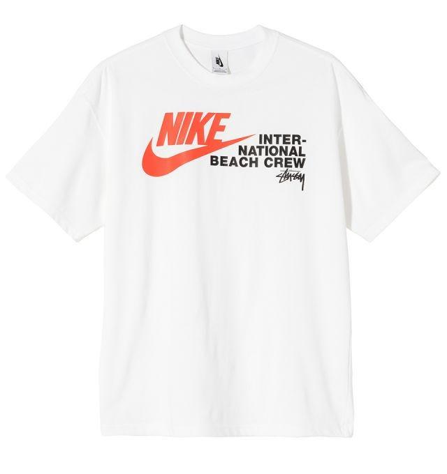 Stussy x Nike The Beach T-Shirt - White