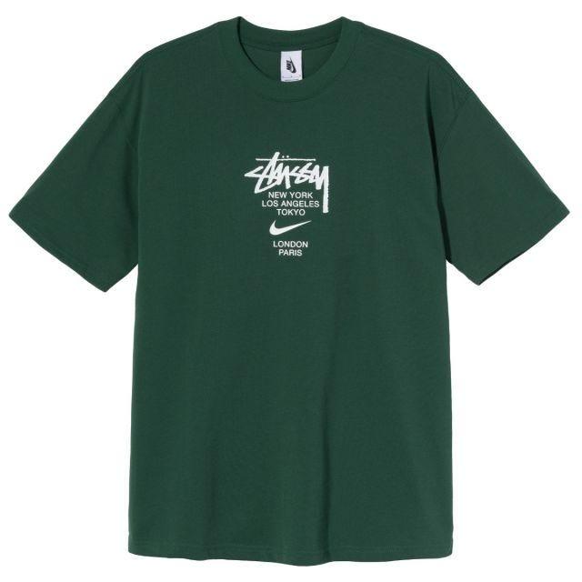 Stussy x Nike International Tee - Green
