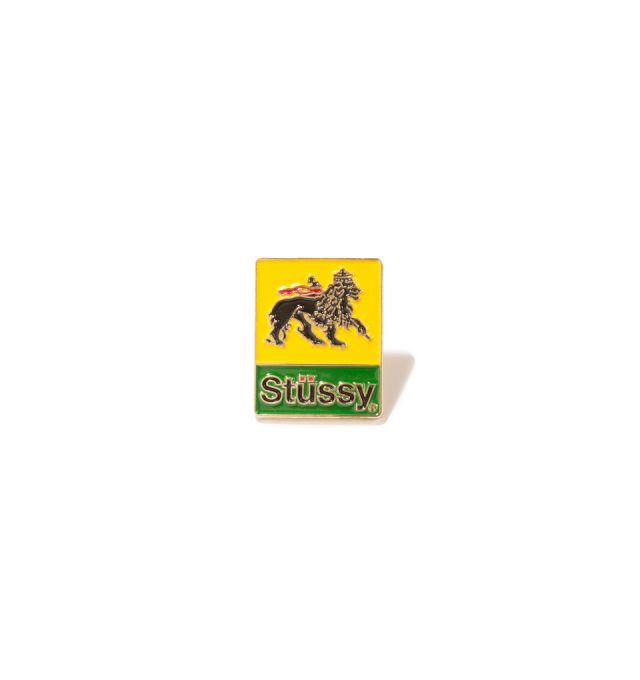 STUSSY LION PIN