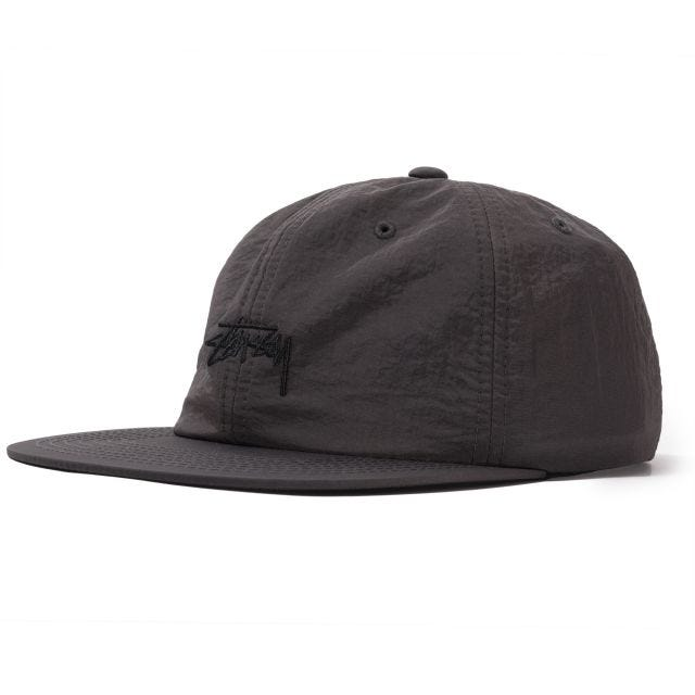 STOCK NYLON STRAPBACK CAP FA19