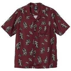 LEAVES PATTERN SHIRT