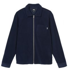 POLAR FLEECE ZIP UP SHIRT