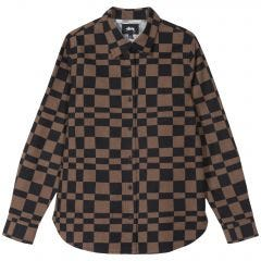 W' SABI CHECKER LS SHIRT